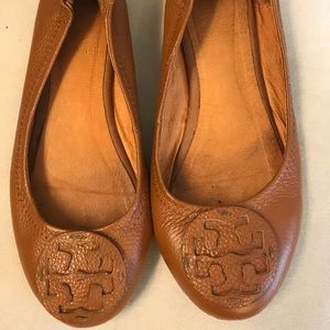 Tory Burch Brown Minnie Flats